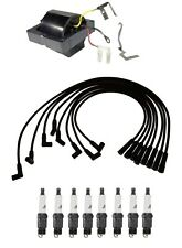 Ignition Wires 1 Coils 8 Spark Plugs Kit ACDelco For Chevy C10 C20 GMC C35 C25
