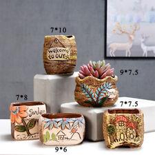 Ceramic Succulent Planters Small Cactus Planters Tripod Glazed Plant Container
