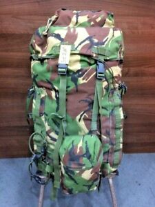 Rucksack/Bergen and Frame (INF) Short Convoluted Back, DPM, IRR Used #375