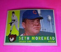 1960 Topps #504 Seth Morehead Cubs NmMt High Grade Sharp!