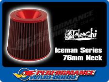 TAKASHI ICEMAN SERIES POD FILTER AIR FILTER RED 76mm NECK
