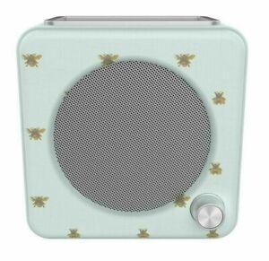 Bush Classic Mini LCD Display Retro DAB & FM Radio - Bee Pattern NEW - FAST POST