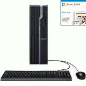 Acer Veriton X4665G Desktop Computer - Intel Core i7 9th Gen + Microsoft 365 Bun