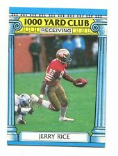 1987 Topps 1000 Yard Club #2 Jerry Rice San Francisco 49ers