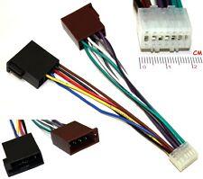 Aerzetix - Adaptateur E5 ISO Convertisseur Fiche Câble faisceau autoradio pour