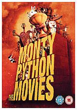 Monty Python The Movies - 4 Movies DVD Boxset - Life of Brian, Holy Grail etc