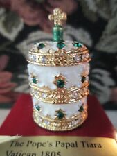 MINIATURE ~THE POPE'S PAPAL TIARA 1805 VATICAN  ~ #61042