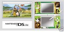 Nintendo DS or DS Lite MADAGASCAR 2 Vinyl Skin Sticker