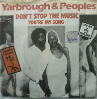 "7"" YARBROUGH & PEOPLES : Don´t Stop The Music (VG++)"
