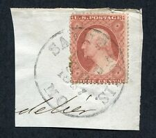 PJ's #25 w/ 1857 St Louis C.D.S. on Piece - Extra Clear Example of Type II -