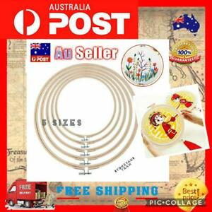 5pcs Plastic Cross Stitch Machine Embroidery Hoop Ring Sewing DIY Tool