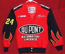Jeff Gordon #24 NASCAR XS Youth Racing Dupont Chase Authentics Flame Jacket