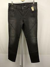 SPORTALM KITZBÜHEL BAMIYA 5-Pocket Slim Fit Jeans Gr. 42 Hose Glitter Schwarz