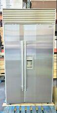 "SUB-ZERO 680 42"" STAINLESS STEEL WATER/ICE DISP REFRIGERATOR @52%OFF $10,950msrp"