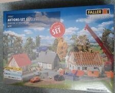 Faller H0 - Bausatz - Set 3 Häuser - Neu mit OVP