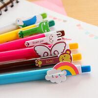 6x lovely kawaii ballpoint pen Cute Animal rainbow wings ballpen Gift
