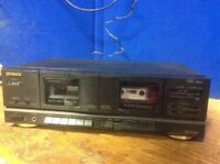 Fisher Stereo Double Cassette Deck CR-W683