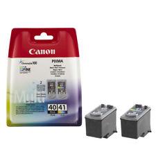 Original Canon PG40 Black & CL41 Colour Ink Cartridges For PIXMA iP2600 Printer