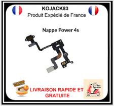Nappe Bouton Power On Off Capteur Proximité Pour Iphone 4s Neuf Apple
