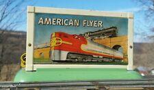Original American Flyer Steam Whistle Billboard#566 Jan 1951:Works Great