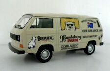 VW T3 Van Bundy Custom Graphics Applied Beige Diecast Van