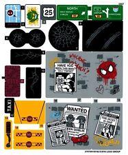 Lego Spiderman Minifigure Marvel Super Heroes 76057 Sh038 Minifigures