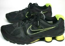 New listing Nike Shox Turbo + Mens Sz 15 Running Shoes Black Volt Green 454166-007 2011