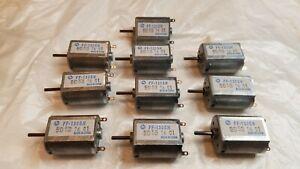 10 x Mabuchi FF-130SH-11340 DC6V 48000RPM Mini 130 Motor for Car DVD Player RC