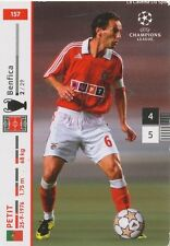 N°157 PETIT # PORTUGAL BENFICA CARD CARTE PANINI CHAMPIONS LEAGUE 2008