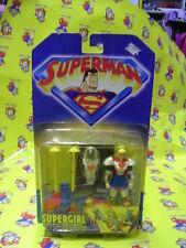 SUPERMAN SUPERGIRL KENNER NUOVO E SIGILLATO