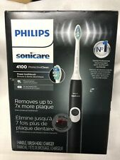 Philips Sonicare 4100 Protective Clean Electric Rechargeable Toothbrush Black