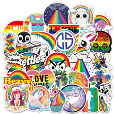 105 Colourful Popular Skateboard Vinyl Sticker Laptop Luggage Kid Decal Lot Cool