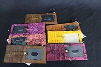 NWT! Brahmin Credit Card Wallet / Credit Card Organizer - Various Colors.