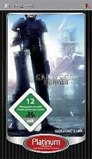 PLAYSTATION SONY PSP final fantasy 7 CRISIS CORE PLATINUM ottimo stato