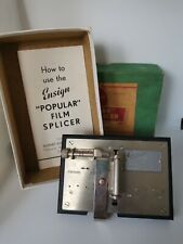 Vintage Ensign Popular Film Splicer for 16mm Film in Box with Instructions