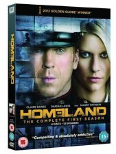 HOMELAND SERIES ONE 1 DAMIAN LEWIS CLAIRE DANES 4 DISC BOXSET UK DVD NEW SEALED