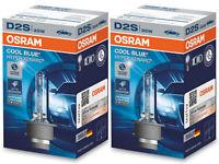 2x OSRAM D2S XENARC COOL BLUE HYPER 66240CBH 35W P32d-2 6000k HID Xenon Bulbs