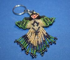Angel keychain Artisan beaded