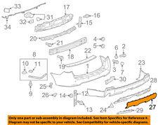 GMC GM OEM 10-15 Terrain-Bumper Trim-Molding 25798906
