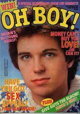 Oh Boy! Magazine 25 February 1978 No.66   The Babys   Martin Gordon  David Essex
