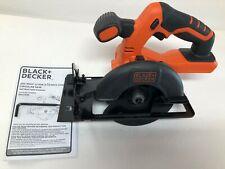 """Black & Decker BDCCS20 20V 20 Volt Max 5-1/2"""" Circular Saw Lithium-Ion R"""