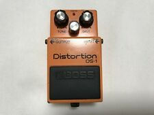 Used! Roland BOSS DS-1 Distortion Black Label Guitar Effect Pedal Made in Japan