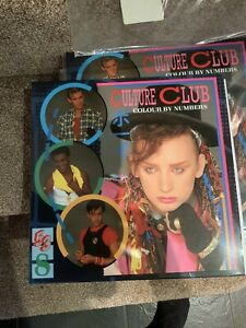 Culture Club - Colour By Numbers - Numbered Red Vinyl. Mint