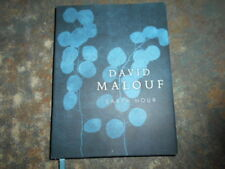 Earth Hour by David Malouf. Hardcover DJ Signed by author