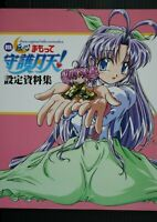 JAPAN Denshin Mamotte Shugogetten! Settei Shiryoushuu (Material Collection Book)