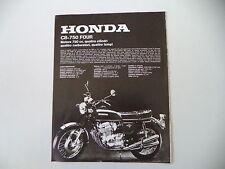 advertising Pubblicità 1973 MOTO HONDA CB 750 FOUR