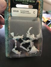 40k Eldar WARP SPIDERS EXARCH Aspect Warriors Metal 1990s Warhammer 8052B