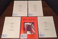 Ockeghem's Missa Cuiusvis Toni Original Notation (Soprano Bass, Alto, Tenor)