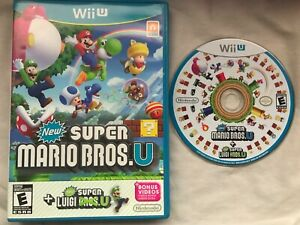 New Super Mario Bros. U Nintendo Wii U