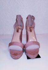 907e3d2031d1 Forever 21 heels shoes open toe mauve 9